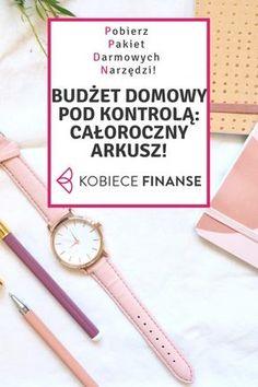 Pobierz pakiet darmowych narzędzi, dzięki którym uporządkujesz swoje finansowe osobiste: całoroczny arkusz do prowadzenia domowego budżetu, lista kontrolna śledzenia postępów w oszczędzaniu, arkusz wyliczenia wartości netto majątku, planer posiłków i zakupów! Sprawdź na blogu Kobiece Finanse! #bonus #freebie #domowybudżet #budżetdomowy #homebudget #finance #money #narzędzia #pomoc #finanse #oszczędzanie #planowanie #planer #arkuszkalkulacyjny #zorganizowana #panidomu #organizacja #porządki Savings Challenge, Money Saving Challenge, Saving Money, Organization Bullet Journal, Weekly Planner Printable, Financial Planner, My Wallet, Organize Your Life, Personal Finance