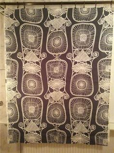 Viola Gråsten Äkta Handtryckt Korgfläta Bra Bohag Design Retro 50-tal  Scandinavian Fabric 77fd27644a5c0