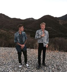 Justin Bieber and Cody Simpson New Photoshoot Together After Musical Partnership