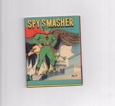 SPY SMASHER #11 (1942 Miniature) Gorgeous grade 7.0 Gold Age comic!  http://www.ebay.com/itm/-/291904235432?roken=cUgayN&soutkn=gDwdnD
