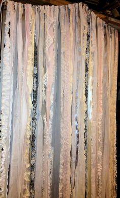 Wedding Garland Floor Length Back Drop Shabby by DorothysRubies, $300.00