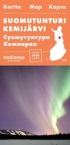 Uusi Mediamapsin Suomutunturi -kartta on ilmestynyt