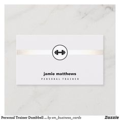 Shop Personal Trainer Dumbbell Logo Fitness Instructor Business Card created by sm_business_cards. Business Card Design, Business Cards, Instructional Coaching, Fitness Logo, Health Fitness, Health Coach, Workout Challenge, Personal Trainer, Trainers