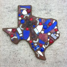 Cool idea for a mosaic project.