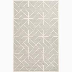 Handmade Gray/ Ivory Wool Te x tured Rug (5 x 8) €131,32