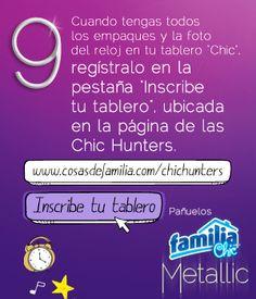 Pañuelos Familia® Chic Metalic - instrucción 9
