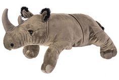 Have hours of fun with our cuddly stuffed rhino! Get yours today at WildRepublic.com.
