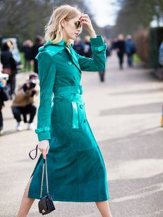 Talk about a majorly chic update! via @WhoWhatWear