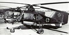 A german Flettner Fl 282 helicopter from the serial production. The picture was taken in Schwednitz (Silesia) in October 1944 | Flickr - Pho...