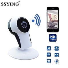 SSYING HD 1080P Smart Wireless Baby Monitor IP Camera Wifi Baby Security Camera Electronic Network Monitors For IOS Android Cellphone -- You can find out more details at the affiliate link of the image.