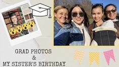 VLOG| Grad Photos & my Sister's Birthday - YouTube My Sister Birthday, Sisters, Polaroid Film, Organization, School, Youtube, Photos, Mariana, Getting Organized