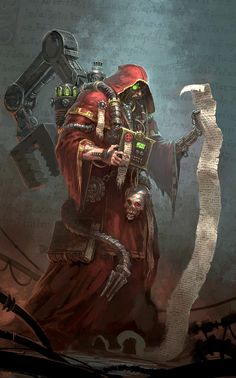 Adeptus Mechanicus Adept, exploring the mysteries of the Cult Mechanicus