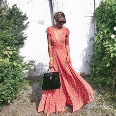 So in love with this @tularosalabel dress! @revolve #revolveme | photo by @miriamalden