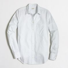 J.Crew+Factory+-+Factory+oxford+shirt+in+perfect+fit