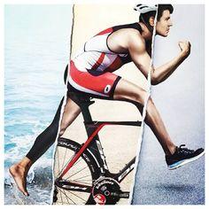 Wir haben viel Respekt für Triathlete. Sie sollen sehr stark sein diesen Sport zu können. Mental und körperlich. Sie können nicht nur die Muskel üben für nur ein Sport, aber alle Muskel für 3 verscheidene Sporten
