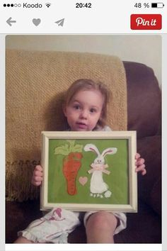 Rabbit and carrot footprints