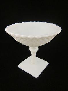 One Life Home Decor - White Hobnail Open Dish