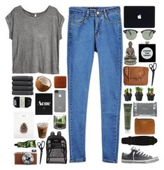 """""""if only you can see me now"""" by aria-97 ❤ liked on Polyvore featuring H&M, Converse, HAY, Dermalogica, Alpine, Acne Studios, Pull&Bear, Forever 21, Aveda and Fuji"""