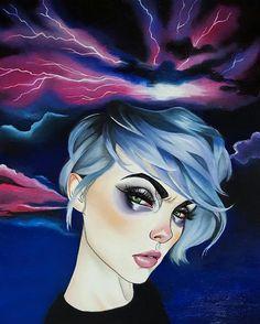 """Molly Storm"" artist Harumi Hironaka"