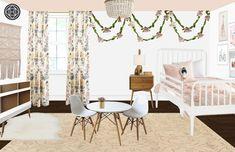 Eclectic, Bohemian, Preppy Bedroom Design by Havenly Interior Designer Natalie Eclectic Design, Eclectic Style, Interior Design, Funky Art, Your Space, Color Combinations, Sweet Home, Design Inspiration, Bedroom