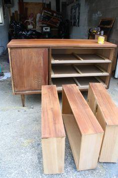 Refinishing Mid-Century furniture