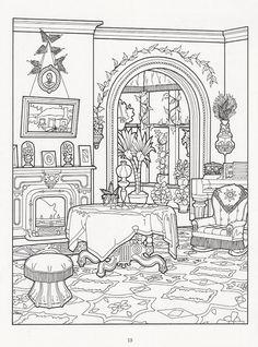 The Victorian House coloring book - Nena bonecas de papel - Álbumes web de Picasa