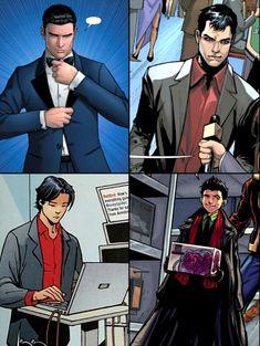 Timothy Drake, Tim Drake, Superhero Family, Batman Family, Marvel Avengers Assemble, Marvel Dc, Dc Costumes, Wayne Family, Gotham Villains