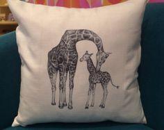 Items similar to 8x12 Photography - Giraffe, animal, blue sky on Etsy