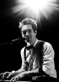 """""""The future should be exciting, you know? It shouldn't be a nerve-wracking experience."""" -Brendon Urie"""