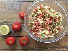Tabulé oriental | Cocinar en casa es facilisimo.com