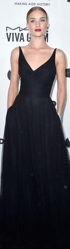 Rosie Huntington-Whiteley – amfAR's Inspiration Gala Los Angeles