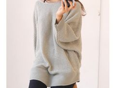 "via en.dawanda.com Sweaters & Vests – ""Unbalance "" asymmetrical sweater BS... – a unique product by Lie-ly-et-Za-mong on DaWanda"
