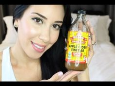 Best Toner for Oily Skin ~ Prevent Acne & Control Oil with Apple Cider Vinegar - Janah Velasco Natural Toner, Natural Skin Care, Apple Cider Vinegar Facial, Apple Vinegar, Home Remedies For Acne, Anti Aging Cream, Healthy Tips, Youtube, Home Remedies