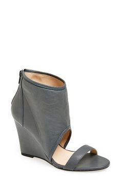 Free shipping and returns on Plomo 'Paula' Sandal (Women) at Nordstrom.com. A bold ankle cuff lends modern edge to a suave leather sandal set on a wrapped wedge heel.