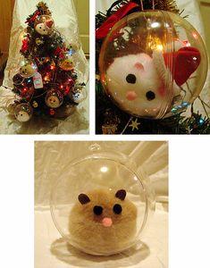 Hamster Craft for Christmas