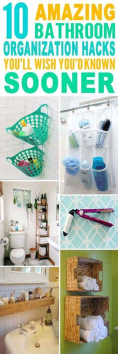 These Are The BEST Bathroom Organization Hacks Ive Ever Seen Glad To