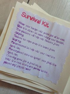 Hen Survival Kit