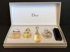 Dior Voyage Mini Travel Les Parfum De Dior Bottles 5ml ea Set of 5 Original Box