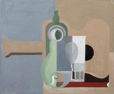 Amedee OZENFANT,Nature morte purist (1921)