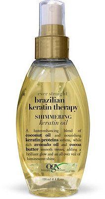 Ulta OGX Brazilian Keratin Therapy Shimmering Keratin Oil