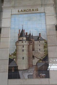 Image result for la gare de tours tile