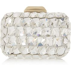 Jimmy Choo Cloud crystal-embellished metallic leather clutch ($3,815) ❤ liked on Polyvore featuring bags, handbags, clutches, jimmy choo handbag, leather clutches, jimmy choo purses, evening handbags and evening clutches