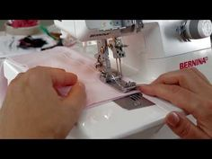 ▶ Tutorial: how to thread a cover stitch with the BERNINA overlocker / serger L 220 - YouTube