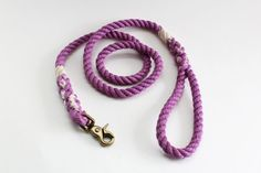New for our Spring 2016 collection: Lilac  This beautiful leash is inspired by the fragrant lilac bloom, and is available for a limited time