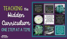 Teaching the Hidden Curriculum: One Item at a Time