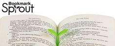 Tiny green sprout makes for highly unusual book mark. Clever little product by Doo Design Studio for SUCK UK