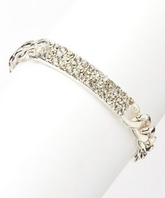 Another great find on #zulily! Silver Sparkle Link Bracelet #zulilyfinds