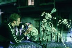 The set of stop-motion Tim Burton's Corpse Bride.