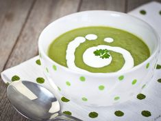 This lightly spiced, delicious watercress and potato soup is ideal for a starter or served with crusty bread for lunch. Francois Regis Gaudry, Potato Soup, Soup Recipes, Good Food, Spices, Food And Drink, Pudding, Lunch, Stuffed Peppers