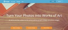 Fotojet is a free online app where you can edit your photos , create photo…